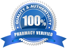 100% Pharmacy Verified